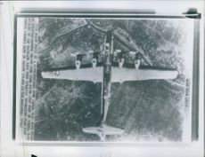 First photo of a Superfortress over Japan.