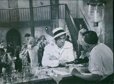 A scene from the film Do not be fancy. 1947