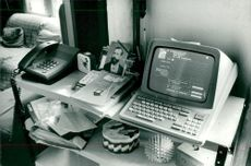The French telephony subscribers connected to Minitel can be viewed on a monitor at home. a. order train station
