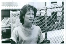Close up of Mary McDonell during a scene of film Grand Canyon. 1991