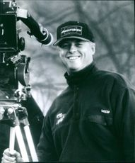 Roger Donaldson director of the film Dante's Peak, 1997.