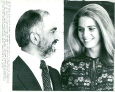 Jordan: King Hussein and the queens Dina and Muna