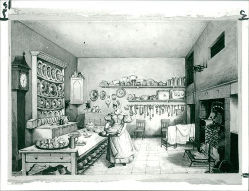 Mary Ellen Best: The Kitchen at Langton.