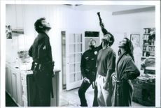 A scene from the film Unlawful Entry. 1992