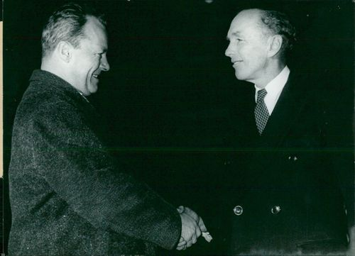 Lord Alec Douglas-Home meets Willy Brandt in Berlin