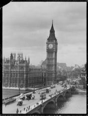 House of Parliament, Big Ben and Westminster Bridge