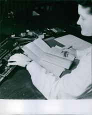 1945 Police Forensic Technology. forensic laboratory