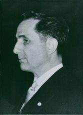 Portrait of Portuguese politician Professor Francisco Leite Pinto, 1960.