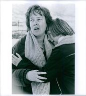 Kathy Bates and Clarissa Lassig in a scene from the film