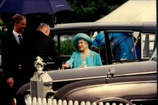 97 years is no age for a queen who wants to see her daughters son playing polo in the competition The Queen Mother Cup.