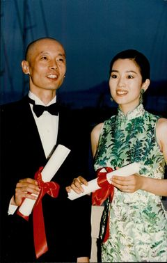 The Chinese actors Ge You and Gong Li at the Cannes Film Festival.