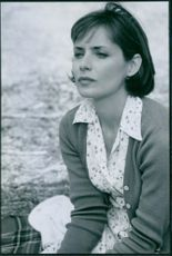 Grace Phillips as Donna Moreland in Truth or Consequences.