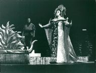Rolf Björling and Birgit Nilsson in the Puccini opera