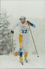 Action image on Per Elofsson, taken less than 30 km classically.
