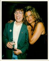 Bill Wyman and wife.