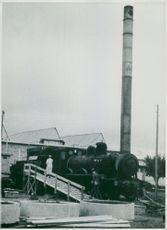 Findus. Temporary steam reserve at Findus factories in Bjuv