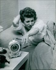 Busy actress Billie Whitelaw's day has been starting early since she added filming to her crowded career.