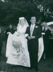 Emilio Federico Schuberth wedding. 1960.