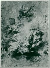 Sir Peter Paul Rubens: sketch for ceiling.