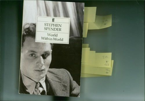 Stephen Spender and his autobiography