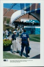 High security in the Olympic village