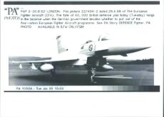 The European Fighter Aircaft