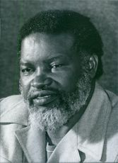 Namibian politician, Sam Nujoma, 1982.