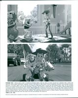 "Scenes from the film ""Toy Story"", 1995."