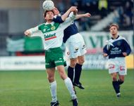 Action image from the match between Hammarby and Gefle. Hammarby won by 1-0.