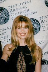 Claudia Schiffer at the National Breast Cancer Coalition's annual gala