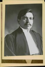 Potato image of Pierre Laval, French politician.