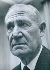 Publisher of the 'New York Times', Arthur Hays Sulzberger, 1960.
