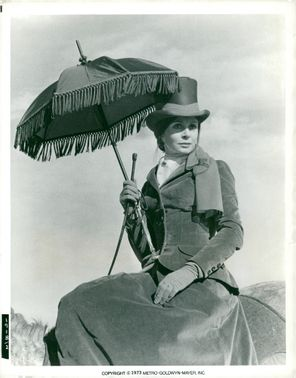 """Sarah Miles as Catherine Crocker in """"The Escape Through The Wilderness"""""""