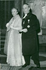 Indian Ambassador Copra with spouse