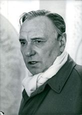 Portrait of Ralph Richardson.