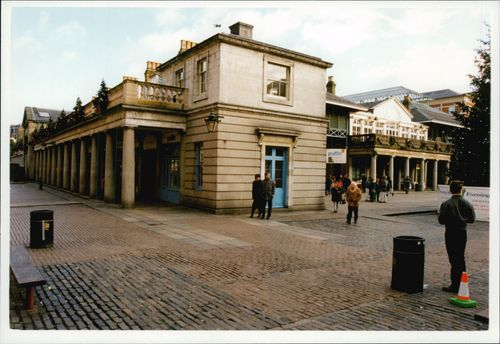 The Covent Garden area of ??London