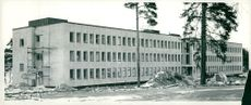 The new environmental building in Strängnäs, built by the construction company Theodor Andersson in Hälleforsnäs