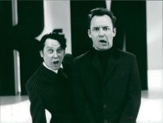 Vic Reeves with Bob Mortimer