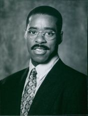 """Portrait of Courtney B. Vance from the movie """"The Preacher's Wife"""", 1996."""