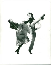 """A duo from """"La Ronde"""" as presented by the Alexander Roy London Ballet."""