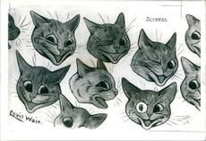 Five Louis wain.