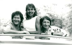 The Monkees: Micky Dolenz, Davy Jones and Peter Tork