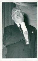 Aneurin Bevan at the party congress