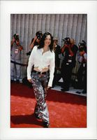 Actress Fran Drescher is photographed on the red carpet