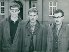 "Kristinehamn's team in ""We Who Know Most"": Bengt Brodén, Anders Rudqvist and Anders Larsson"