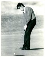 Golfer Ian Baker-Finch during 1985's Open Championship