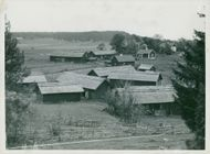 The village of Viby northeast of Sigtuna in 1938.