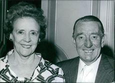 A photo of Wilfred and Mabel Pickles - British Entertainers