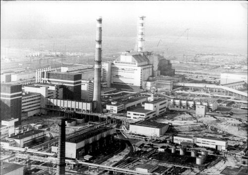 Chernobyl five years after the accident.