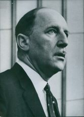 Joseph Antoine Marie Hubert, Dutch Minister for Foreign Affairs and fifth Secretary General of the North Atlantic Treaty Organisation Date: 17 Sep 1960